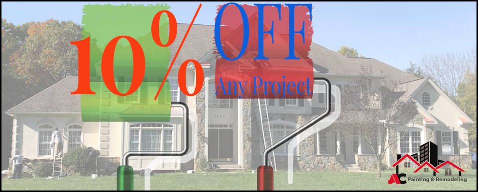 Coupons - 10% Off on painting services